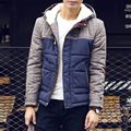 Hot sale 2016 New Winter Jacket Men High Quality Down Cotton Men Clothes thickening cotton-padded Jacket Coats Plus Size M-5XL