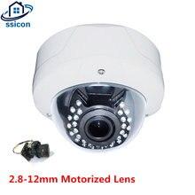 Купольная камера видеонаблюдения ssicon 28 12 мм с автоматическим