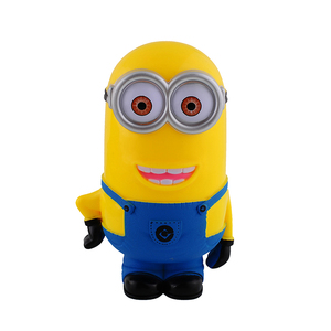 Lovely 3D Cartoon Figures Piggy Bank Minions Money Box Saving Coin Cent Penny Box for Children Baby Gifts Toys(China)