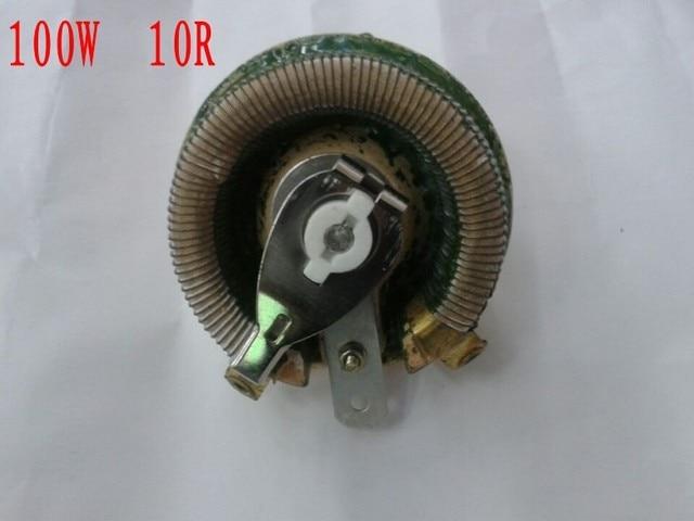 100w 10 ohm high power wirewound potentiometer ,rotary rheostat100w 10 ohm high power wirewound potentiometer ,rotary rheostat, disk ceramic variable resistor 100w 10r