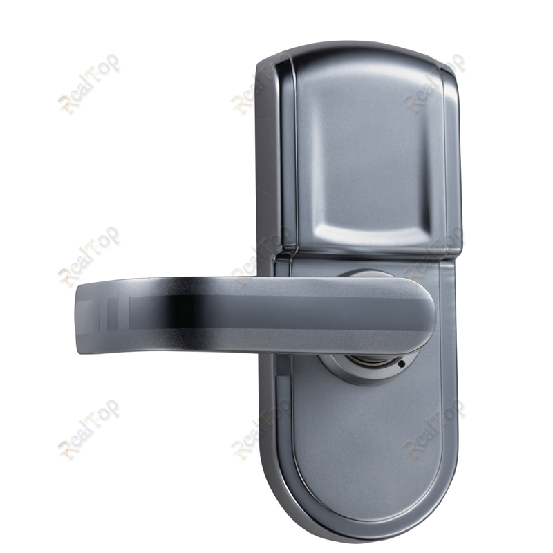 buy small digital smart biometric door lock fingerprint locks with single latch easy to install for old doors from reliable lock disk