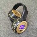 Nova zealot b570 mp3 lcd dobrável on-ear fone de ouvido estéreo sem fio bluetooth v4.0 fone de ouvido fones de ouvido com rádio fm slot para cartão tf para celular telefone
