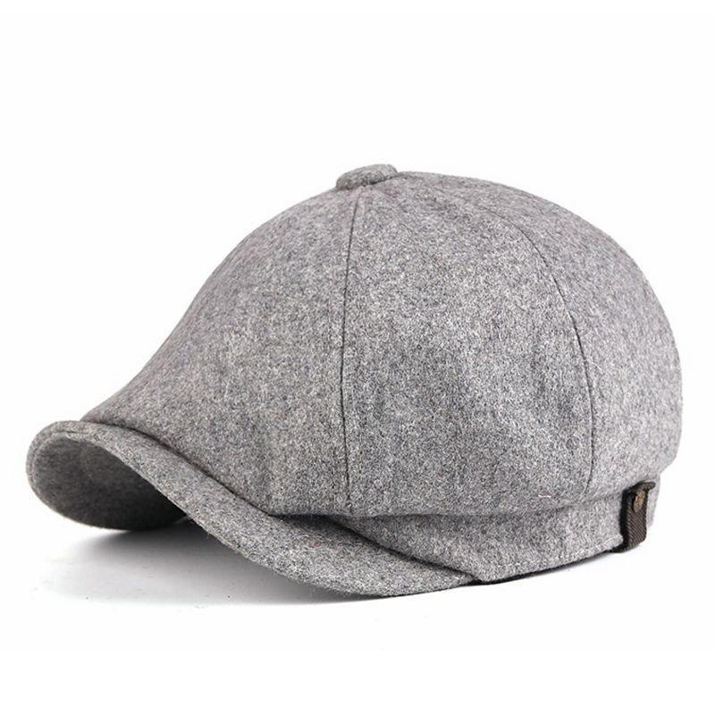 Большой Размеры восьмиугольная шляпа женский вязаный берет Зимняя шляпа художника домашние тапочки с изображением головы человека размер...
