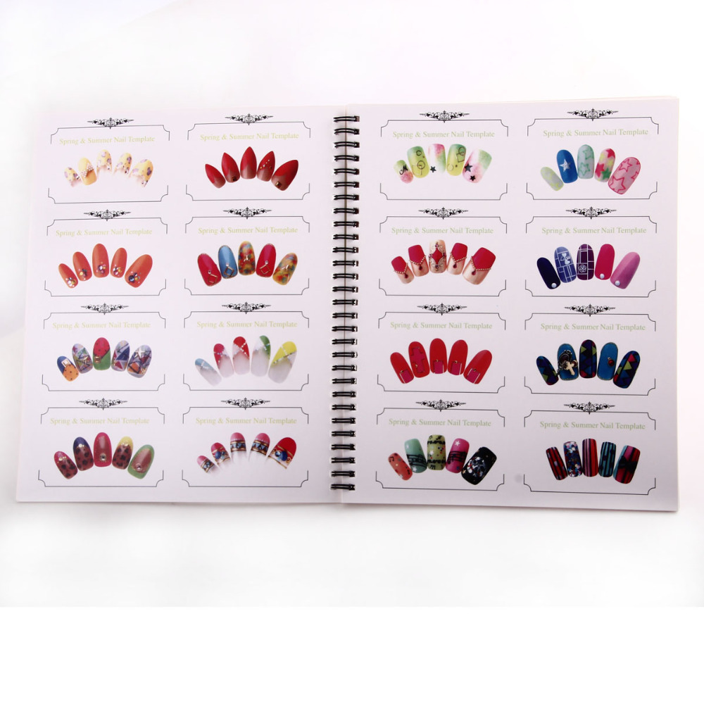 Online shop 1pc professional nail art template nail art display online shop 1pc professional nail art template nail art display book chart for manicure salon design tips f0426 aliexpress mobile prinsesfo Image collections