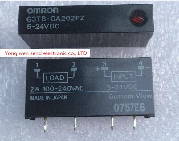 NEW relay G3TB-OA202PZ-5-24VDC G3TB-OA202PZ 5-24VDC G3TBOA202PZ524VDC G3TBOA202PZ 5-24VDC DIP4 2pcs/lot