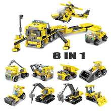 80460 city construction puzzle building blocks Construction Toy Compatible with City Car Technic 72Style 8 in1(China)