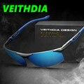 Revestimiento de Espejo de Conducción de aluminio Y Magnesio gafas de Sol Polarizadas de Los Hombres Gafas de Sol oculos Hombres Gafas Accesorios 6589