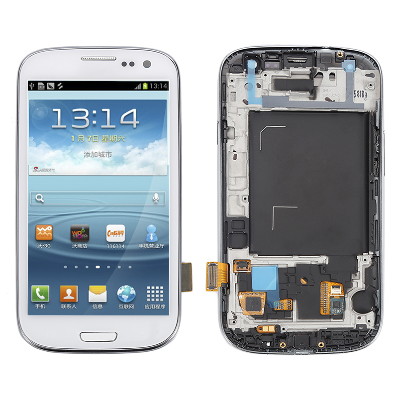 3 color For Samsung Galaxy S3 Neo GT-i9300 GT-i9301 i9308 LCD Assembly Touch Screen Display Digitizer Repair Parts+Free ship!!!
