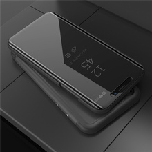 Mirror Flip Case For Oneplus 6 1+6 Luxury Clear View PU Leather Cover One plus Smart for Oneplus6