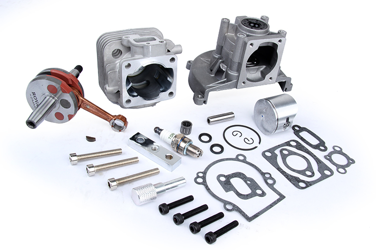 baja Engine 30.5CC BIG BORE UPGRADE KIT 2 change 4 BOLT for ROVAN BAJA ENGINE baja parts 2 change 4 bolt engine 30 5cc big bore upgrade kit for 1 5 hpi baja 5b 5t km