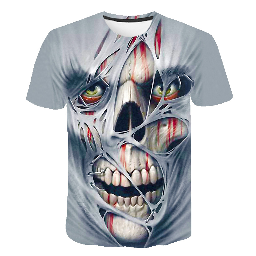 Новейшая футболка Веном с 3D принтом, футболка s для мужчин и женщин, Повседневная футболка с коротким рукавом для фитнеса, футболка Дэдпул, футболки с черепом, топы азиатского размера - Цвет: 1064