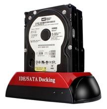 USB2.0 double disk hard disk drive, serial / parallel port, multi-function mobile hard disk box, 2.5/3.5 mobile hard disk drive