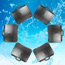 Plastic multifunctional outdoor instrument case plastic tool box