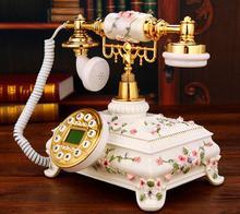 лучшая цена Ye are the top antique telephone European Garden Home Office landline phone phone