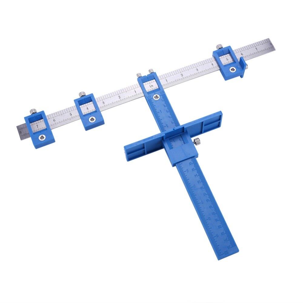 Drill Guide Hülse Schrank Hardware Jig Wahre Position Werkzeug Schublade Pull Jig Holz Bohren Dowelling Loch Sah Master System