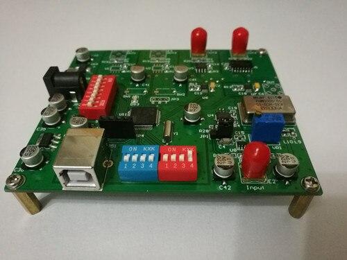 PLL Audio Clock Multi Channel High-precision High Frequency Clock Serial Port Setup HIFI Audio Signal Source