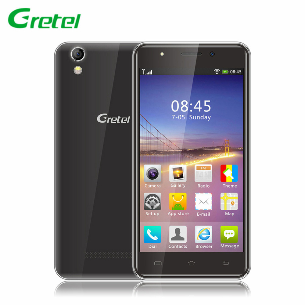 Gretel G1 5 0 inch 1280x720 HD 3G Smartphone Android 5 1 Quad Core 1 8Ghz