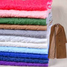 Pogrubienie pikowane podszewki tkanina bawełniana na zimowy płaszcz podszewka kurtka podszyta bawełną poduszka na krzesło DIY handmade 150*50cm