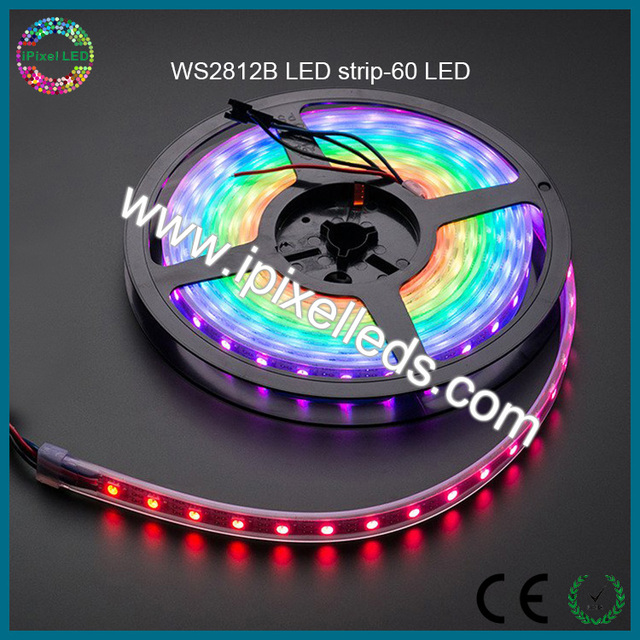 High brightness programmable ultra thin led strip waterproof high brightness programmable ultra thin led strip waterproof ws2812b led strip light 5v aloadofball Image collections