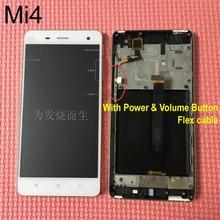Протестировал OK полный ЖК-дисплей Дисплей Сенсорный экран планшета в сборе с рамкой для сяо Mi 4 M4 Mi 4 телефон замена WCDMA или TDSCDMA