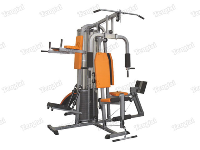 Hardcore home gym equipment th002 with power tower fitness station
