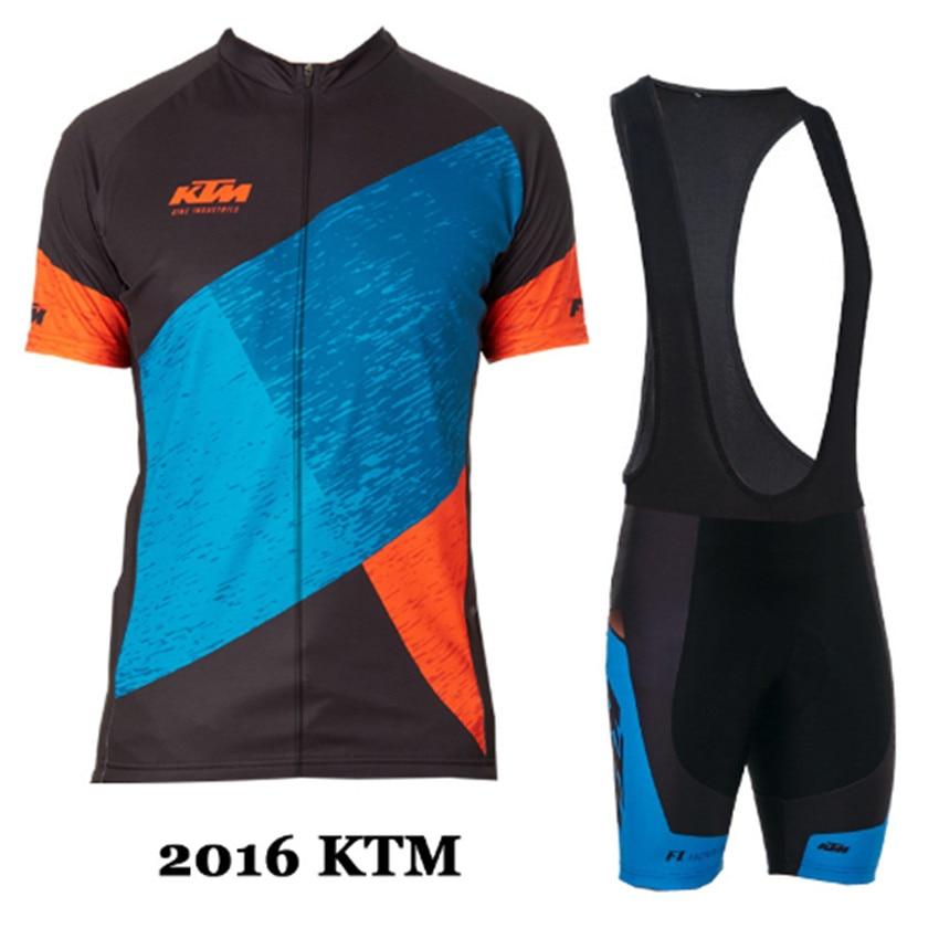 KTM font b Cycling b font Jersey ciclismo ropa tops cycle bike bicycle MTB clothing Man