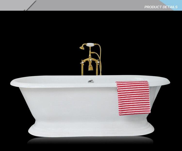 Vasca Da Bagno In Ghisa : Trasporto libero di lusso vasca da bagno uso per interni ghisa