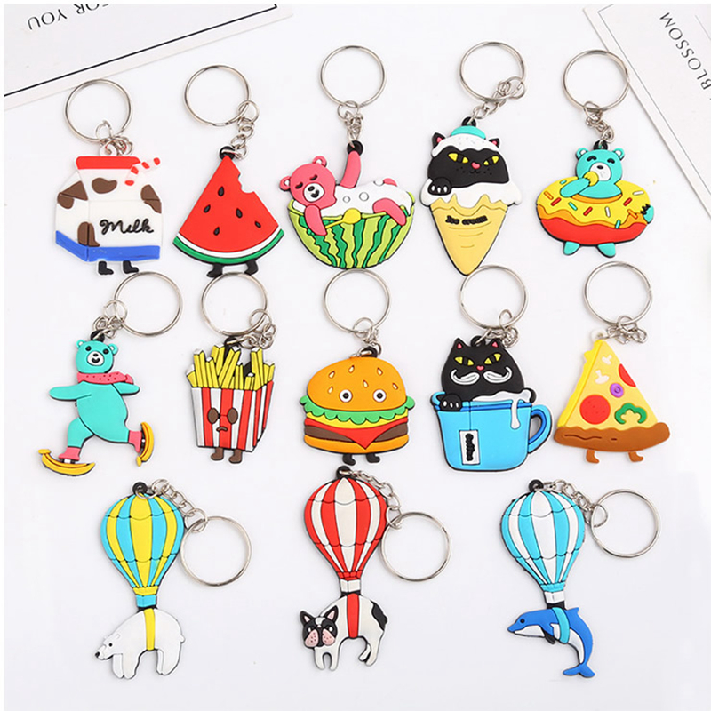 Travel Accessories Creative PVC  Portable Multifunction Unisex Key Security Security Parts Decoration Buckle Suitcase Pendant