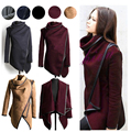 Hzoioys Autumn and Winter Coat Women Long Cashmere Overcoats  Woman Trench Wool Coats Fur Manteau Abrigos Mujer Plus Size