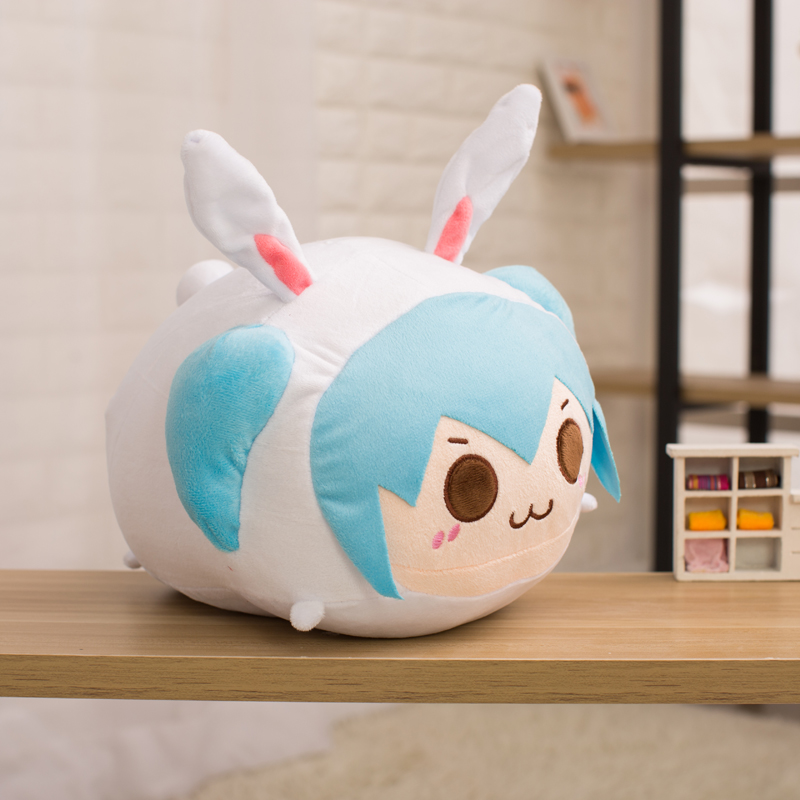 Popular Anime 30cm Hatsune Miku Plush Pillow Soft Doll Stuffed Plush Animal Toy For Baby Girls Kids Lover Child Christmas Gift cute poodle dog plush toy good quality stuffed animal puppy doll model soft doll kids gift baby toy christmas present