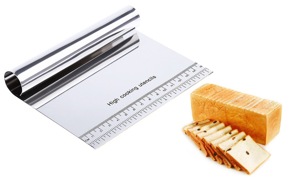 Stainless Steel Pastry Scraper