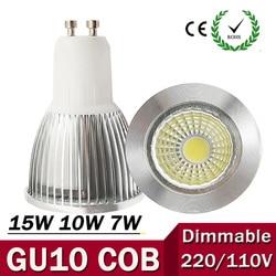 Super bright gu10 bulb light dimmable led ceiling light warm white 85 265v 7w 10w 15w.jpg 250x250