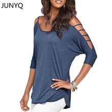 2017 women tops tees summer Off shoulder t-shirt Cotton tshirt women clothes poleras de mujer camisetas femininas plus size
