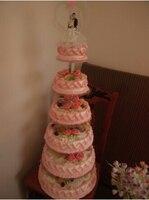 Free Shiping acrylic crystal chandelier wedding cake stand 7 tier wedding cake stand stand for wedding cake