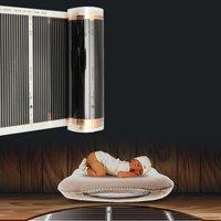 4 piezas 50 CM * 2 M un metro cuadrado película de calefacción de suelo (sin accesorios) alfombra de película térmica infrarroja lejana