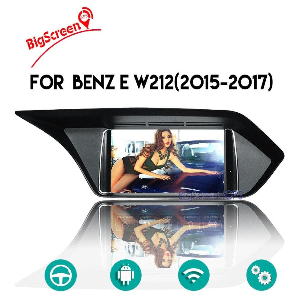 Android 8.0 Octa Core CD DVD Player 2 Din Stereo Car Radio for Benz E W212 2015 2017 GPS Navigation Autoradio Headunit Satnav