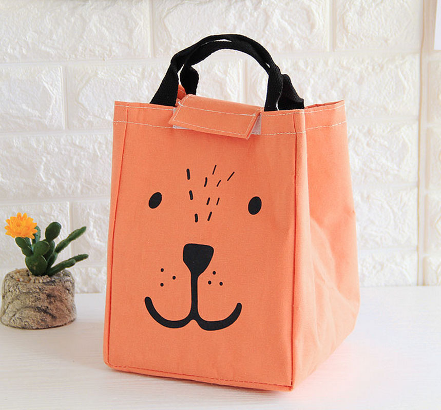 Fashion Portable Lunch Bag Insulated Thermal Bags for Women kids Men Cartoon Cooler Bag  ...