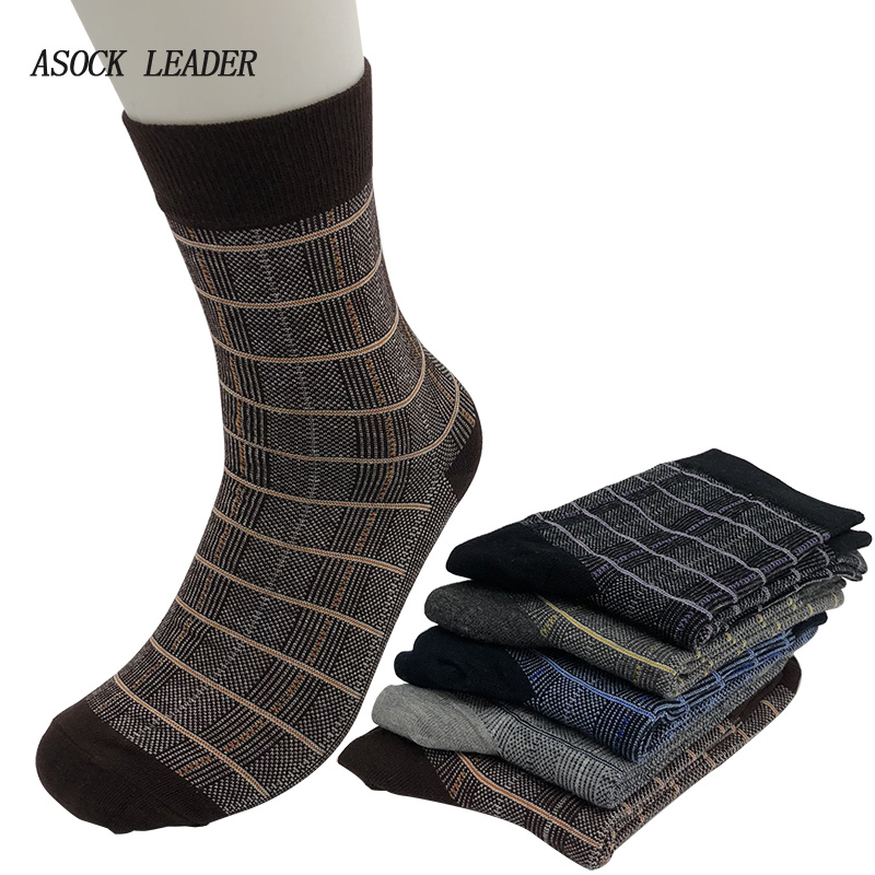 Men's Socks pure cotton socks cotton national style men ocks autumn winter men business cotton socks 5 pairs / lot