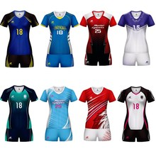 20109 New Brand Men Women Sports Volleyball Uniforms Blank Sporting Training Suit Running Sets Kits