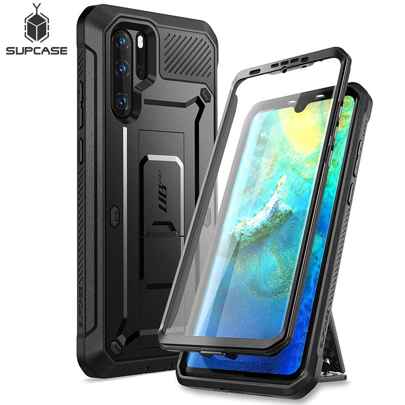 For Huawei P30 Pro Case (2019 Release) SUPCASE UB Pro Heavy Duty Full Body Rugged Case with Built in Screen Protector+Kickstand|Fitted Cases| - AliExpress