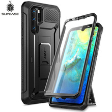 For Huawei P30 Pro Case (2019 Release) SUPCASE UB Pro Heavy Duty Full-Body Rugged Case with Built-in Screen Protector+Kickstand supcase for iphone 11 pro max case 6 5 inch ub pro full body rugged holster cover with built in screen protector