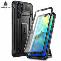 Pour Huawei P30 Pro Case (2019 libération) SUPCASE UB Pro robuste boîtier robuste avec protection d'écran intégrée + béquille