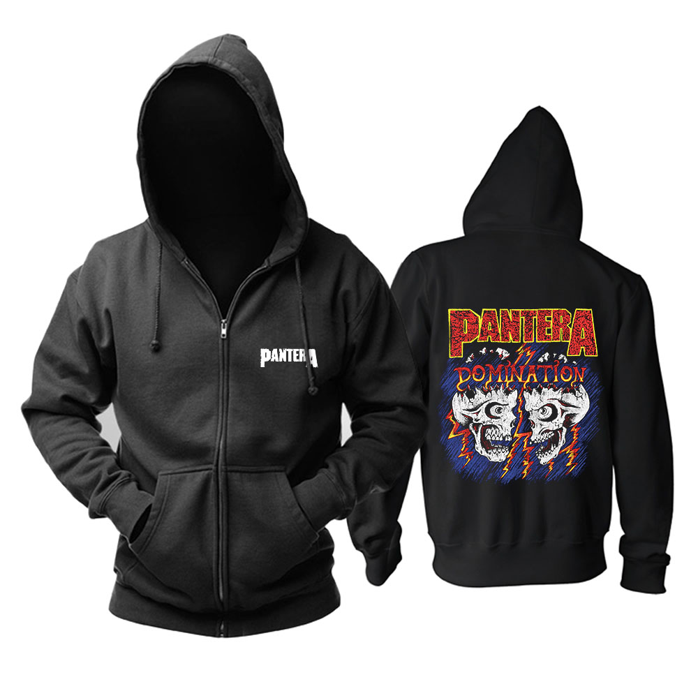 Bloodhoof Pantera heavy Metal band Thrash Live From Donington '94 album rock mucis black top hoodie Asian Size image