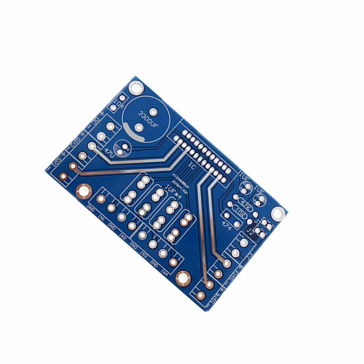 Leeren Brett TDA7388 4 Kanal 4x41 W Audio Power Verstärker Platine BTL PC Auto Amp