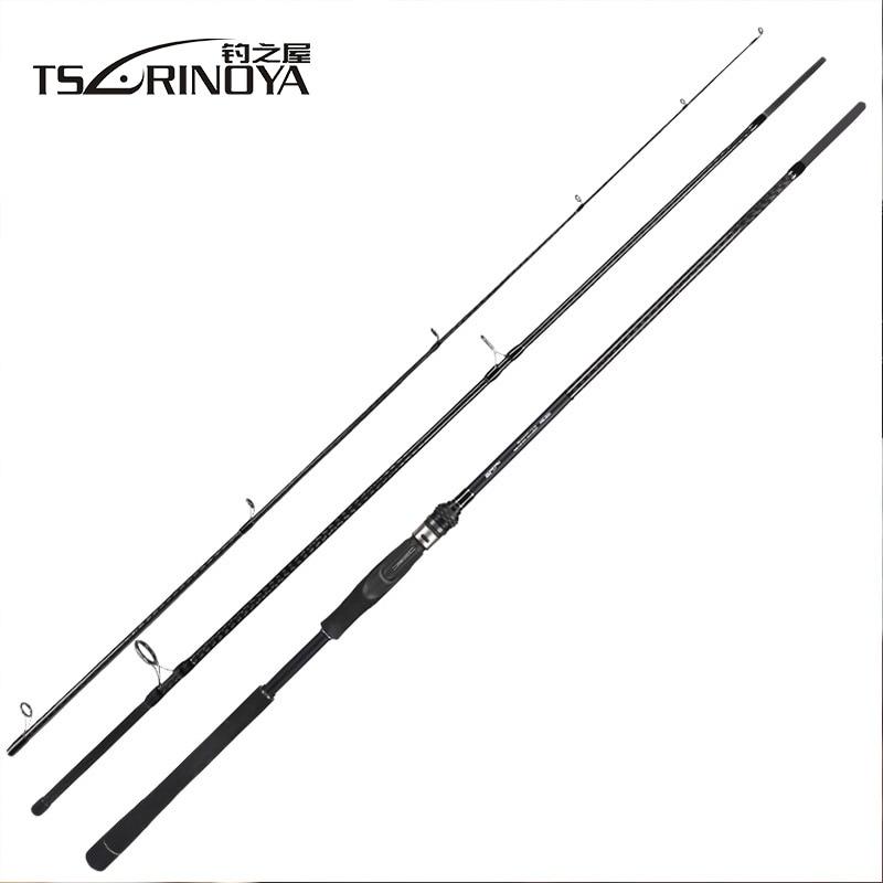 TSURINOYA TYRANTS 2.4m 2.7m 3m 3.3m Spinning Fishing Rod FUJI Accessories Distance Throwing Carbon Lure Rod Vara De Pesca цена 2017