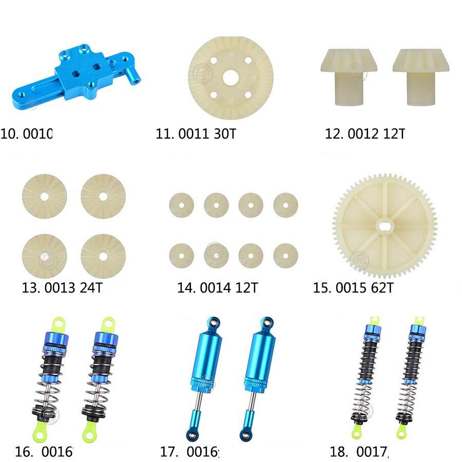 100% Wahr Wltoys 12428 12423 Rc Auto Ersatzteile Classis/hinterachse/arm/wavefront Box/getriebe/anschluss Stück Etc. 12428 Teile Zubehör Ausreichende Versorgung