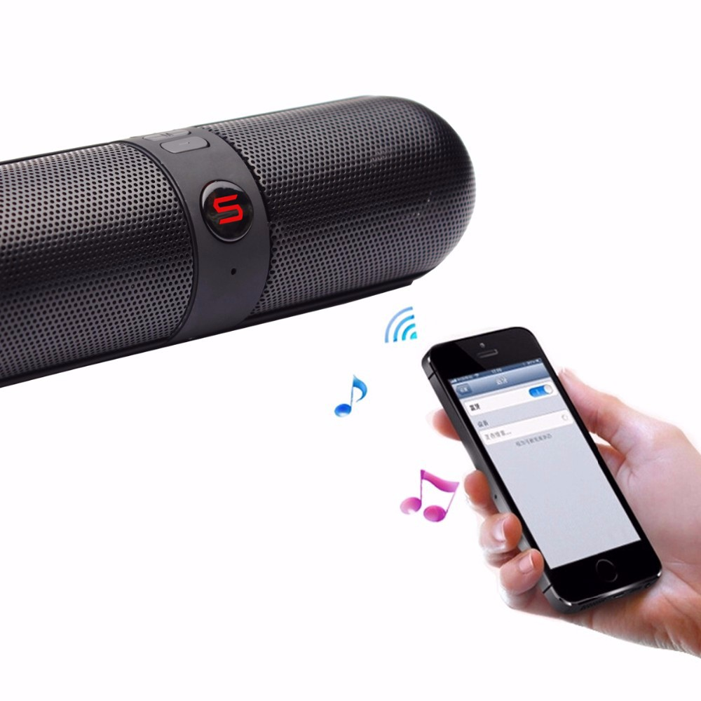 Portable Stereo Wireless Speaker with HDs