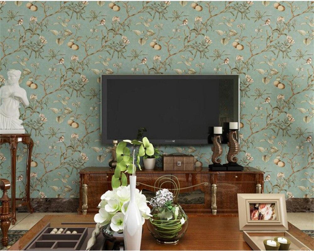 Online kopen wholesale behang bloem ontwerp uit china behang bloem ...