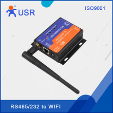 USR-WIFI232-610-V2 RS232/RS485 to RJ45/WiFi Servers Converters FCC/CE/RoHS/TELEC Certificated