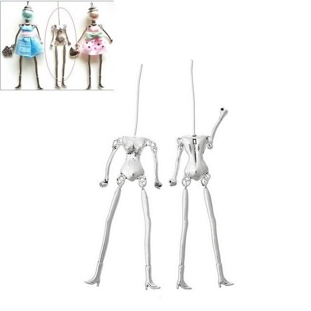 Mjartoria 5 unids esqueleto humano Cuerpo forma Colgantes DIY ...